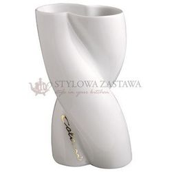 Wazon biały niski 20 cm ab ovo colani marki Weimar porzellan