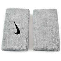 Frotka, opaska na rękę szeroka swoosh doublewide  - biały - biały, marki Nike
