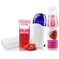 Zestaw podgrzewacz wosku + wosk + paski + lotion marki Neonail