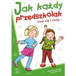Jak każdy przedszkolak bawi się i uczy 3-5 lat, książka w oprawie broszurowej