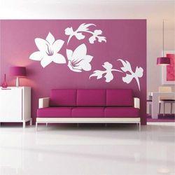 Wally - piękno dekoracji Szablon malarski kwiaty 006