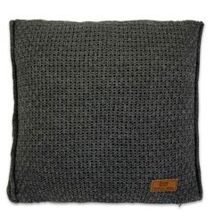 Baby's Only, Robust Antracite Poduszka z tkaną powłoczką, 40x40cm, ciemnoszara