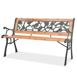 Drewniana ławka ogrodowa rosa marki Producent: elior