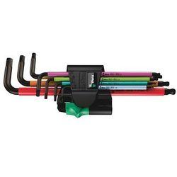 Wera 950 spkl multicolour zestaw 7 kluczy trzpieniowych z kulką (4013288183750)
