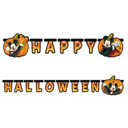 Baner Happy Halloween Myszki Mickey - cm - 1 szt. (5201184842621)