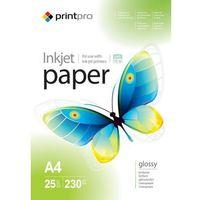 Arsej papier fotograficzny błyszczący a4 230 g/m 25 szt marki Printpro