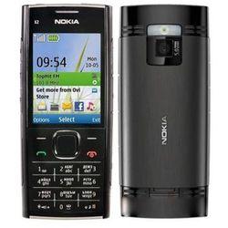 Nokia X2-00 Czarna - Czarny \ 2 lata na terenie całego kraju + polskie menu + bez sim locka z kategorii Pozos