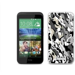 Fantastic Case - HTC Desire 320 - etui na telefon Fantastic Case - szare moro (Futerał telefoniczny)