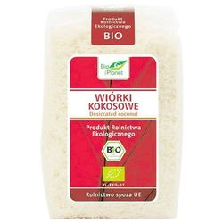 BIO PLANET 200g Wiórki kokosowe Bio | DARMOWA DOSTAWA OD 200 ZŁ - sprawdź w wybranym sklepie