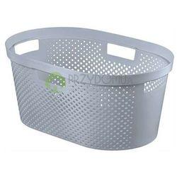 Kosz na pranie, do magla INFINITY 39l szary 04755 - produkt z kategorii- Kosze na pranie