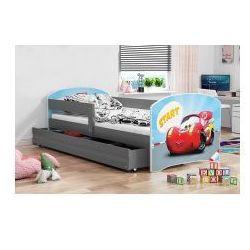 Łóżko Luka grafit 80 x 160 różne wzory z materacem, 2285