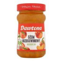 Dżem brzoskwiniowy niskosłodzony 280 g  marki Dawtona