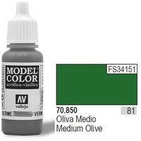 Vallejo  farba nr81 medium olive 17ml, kategoria: farby modelarskie