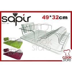 SUSZARKA ociekacz do NACZYŃ chrom WYJMOWANJA NA naczynia SAPIR - sprawdź w Cook Store