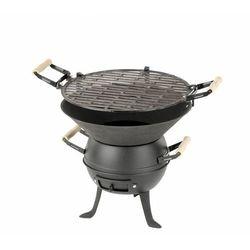 Grill żeliwny beczułka VALENCIA | 450x360x(h)350mm - produkt z kategorii- grille