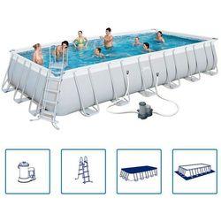 Bestway basen ogrodowy prostokątny power steel 30045l