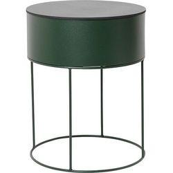 Kwietnik plant box okrągły zielony (5704723019749)
