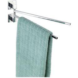 Dwuramienny wieszak na ręczniki z serii Formia z innowacyjnym systemem mocowania Express-Loc