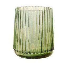 Hkliving wazon szklany zielony, rozmiar s agl4411 (8718921013949)