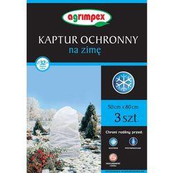 Agrowłóknina kaptur ochronny 50x80 cm biały 3 szt. od producenta Agrimpex