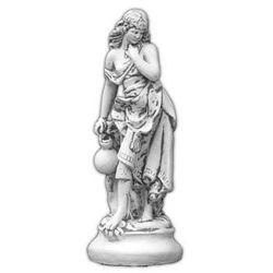 Figura ogrodowa betonowa kobieta z dzbanem 66cm