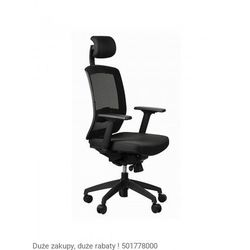 Fotel Ergon czarny, 1020