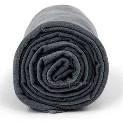 xl szybkoschnący ręcznik treningowy 70x140 cm / ciemnoszary - ciemnoszary marki Dr.bacty