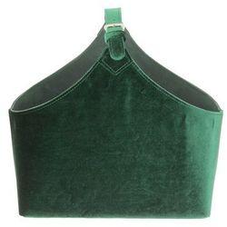 gazetnik inez green 36x17x38cm, 36x17x38cm marki Dekoria