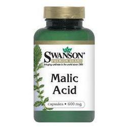 Malic acid (kwas jabłkowy) 600mg 100kaps (artykuł z kategorii Pozostałe środki na odchudzanie)