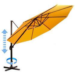 Myard parasol ogrodowy, boczny Roma - pomarańczowy