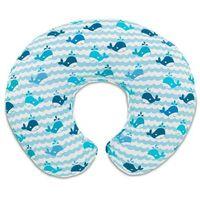 Boppy poduszka do karmienia Blue Whales (8058664050581)