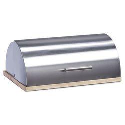 Metalowy chlebak na drewnianej podstawie, ZELLER (4003368204758)