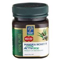 Miód Manuka 250+ z żelem ACTIV aloe 250g