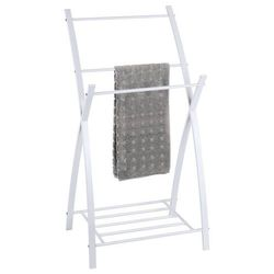 Łazienkowy stojak na ręczniki z półką viva, marki Wenko