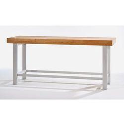 Stół warsztatowy do dużych obciążeń, szer. blatu 2250 mm, bez podbudowy, grubość