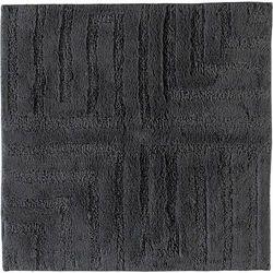 Dywanik łazienkowy cawo 60 x 60 cm antracytowy wytłaczany