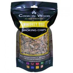 Wiórki wędzarnicze 0,36kg Cook in wood Whisky brązowe