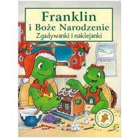 Franklin i Boże Narodzenie-zgadywanki i naklejanki, oprawa miękka