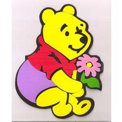 Obrazek - zabawka na ścianę - Kubuś Puchatek4 - mały, 00767