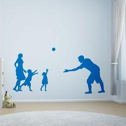 Wally - piękno dekoracji Naklejka na ścianę dla dzieci rodzina 2273