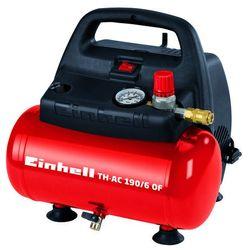 Kompresor bezolejowy EINHELL TH-AC 190/6 OF 6 litrów + DARMOWY TRANSPORT! (4006825592184)
