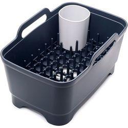 Misa i suszarka do naczyń Wash&Drain Plus Joseph Joseph czarna - produkt z kategorii- Suszarki do naczyń