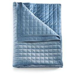 Narzuta pikowana niebieski marki Bonprix