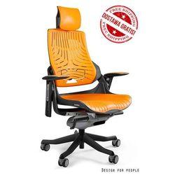 Fotel ergonomiczny czarny WAU Elastomer - Mango- NAPISZ DO NAS - OTRZYMASZ RABAT!, Unique