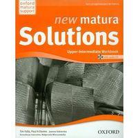 New Matura Solutions Upper-Intermediate Workbook z płytą CD (kategoria: Encyklopedie i słowniki)