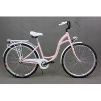 Goetze  rower miejski shabby różowy 18