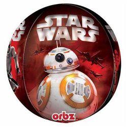 Balon foliowy Star Wars - Przebudzenie Mocy - 38 x 40 cm - 1 szt.