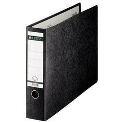 Leitz segregator 180° kartonowy a3 poziomy, 77mm, czarny