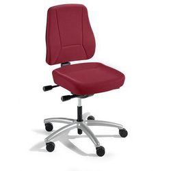 Interstuhl büromöbel Krzesło obrotowe z podporą lędźwi, mechanizm synchroniczny, siedzisko nieckowe,