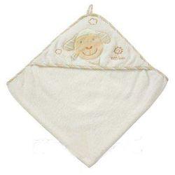 Fehn  ręcznik kąpielowy z kapturem baby love owieczka paul